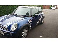 mini one 1.6, petrol 2002