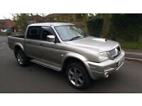 Mitsubishi L200 Animal Double Cab Pickup 4WD Manual 05 Reg 68,000 miles 2.8 Turbo Diesel
