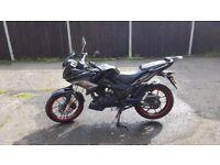 Lexmoto Zsx-f 125cc Motorbike for sale £1350 ono