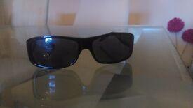 Mens Black Dunhill Sunglasses