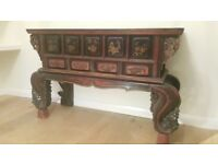 Antique Chinese altar sideboard