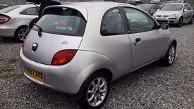 Ford KA 1297CC PETROL, HATCHBACK,MANUAL, SILVER, 2007(57)FULL MOT ,***LOW MILEAGE***