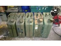 Jerry Cans 20ltr