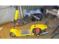 Petrol scooter (goped)