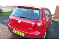 VW GOLF MK5 6SPEED, LONG MOT, SERVICE HISTORY, CHEAP ON FUEL TAX, CD ALLOY BIG BOOT TIDY £1245ONO