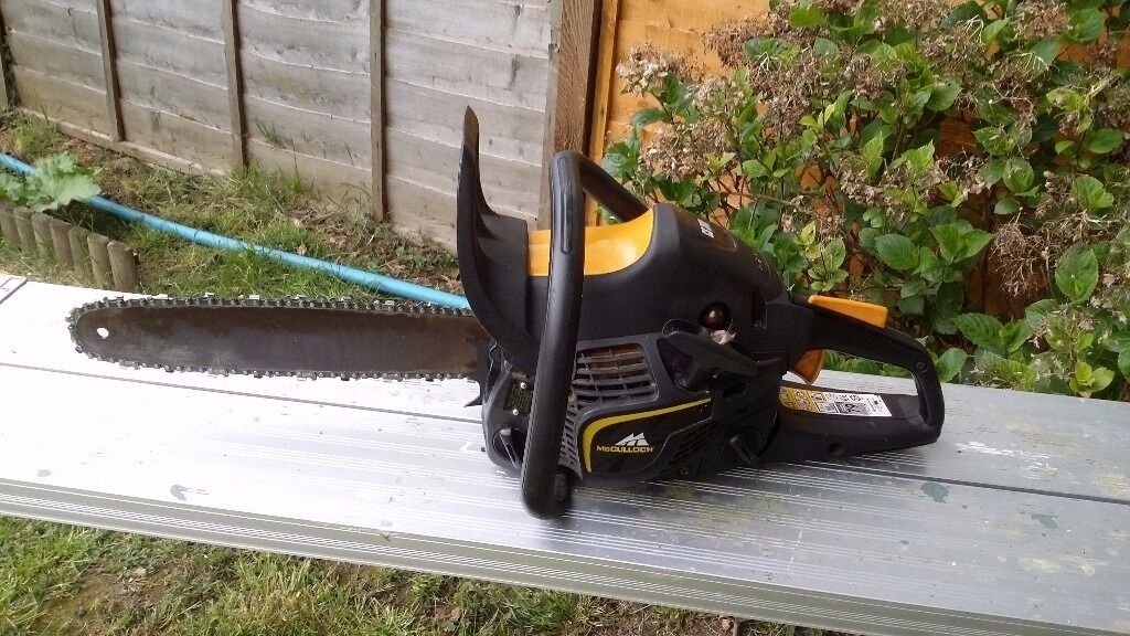 mcculloch cs340 34cc 14 chainsaw 50 in ashford kent gumtree. Black Bedroom Furniture Sets. Home Design Ideas