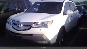 2008 Acura MDX Elite Pkg AWD NAV CAMERA 7 SEATS CERTIFIED