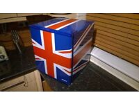 .. REDUCED .. Huskey Fridge PART EXCHANGE POSS. Union Jack DELIVERY POSSIBLE