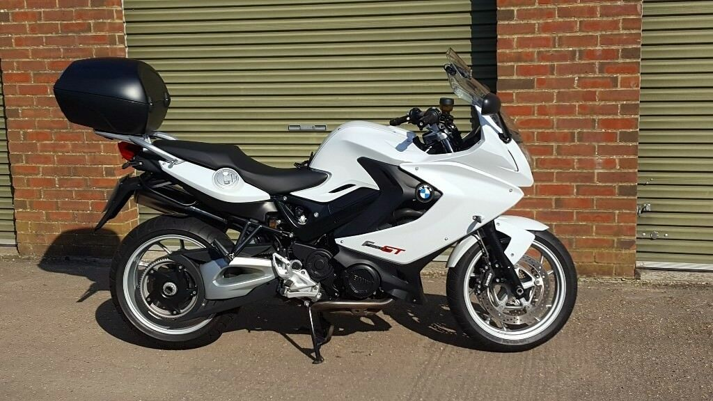 for sale bmw f800 gt white in eastbourne east sussex. Black Bedroom Furniture Sets. Home Design Ideas