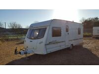 LUNAR LEXON ES 4 BERTH WITH AWNING- FIXED BED-2003