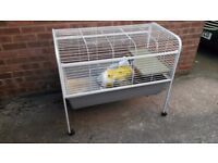 Guinea Pig cage on wheels