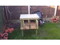 Custom made large outdoor rodent / guinea pig / rabbit cage / hutch - CAN BE DELIVERED