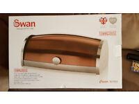 Brand New : Swan Copper Series Bread Bin