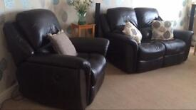 La-Z-Boy 2 Seater & 1 Arm Chair Sofa (Collection Only)