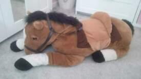 large soft horse toy