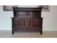 Attractive Neo-Tudor Oak Sideboard