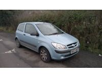 Hyundai Getz 1.1 cc GSI, 3dr, MOT Oct 2017, Tax Apr 2017. Full service history.