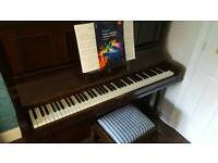 Piano....free to good home...must collect