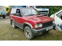 Vauxhall monterey 4x4 (isuzu)