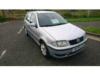 LHD LEFT HAND DRIVE GOOD EXPORT VW POLO 5DOORS 1.9 DIESEL. ROAD TAX COST £0
