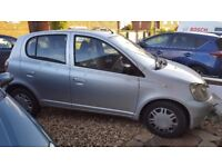 Toyota Yaris 1.0 Silver 5 Doors Spares and Repairs