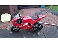 Ducati electric motor bike