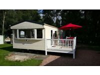 Spacious 3 bedroom caravan for hire, sleeping 6/8, located at Parkdean's Tummel Valley site