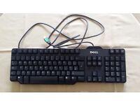 Dell RT7D50 USB Keyboard Black USED