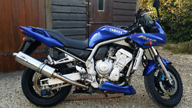 Fazer 1000 03 Excellent condition Low milage Blue Service History