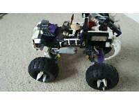 Lego Ninjago Skull Truck