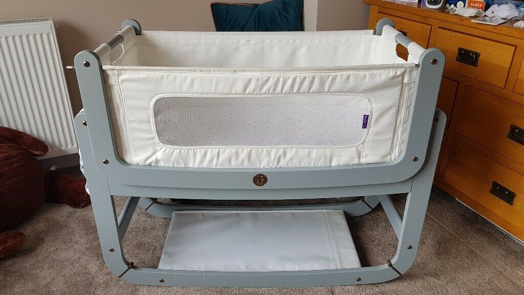 new style 20693 56413 Snuzpod 2, Bedside Crib with Mattress Protector and Sheets | in Wells,  Somerset | Gumtree