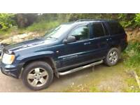 Jeep Grand Cherokee 2.7 CRD Limited Edition,for SPARES/REPAIRS