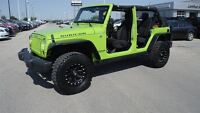 2013 Jeep WRANGLER UNLIMITED Rubicon 4WD, Heated Seats, Remote S