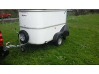 ifor williams bv64 box van trailer in brand new condition