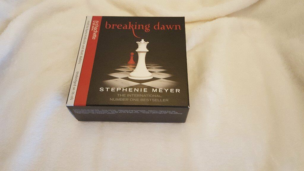 16 Audio CDs of the book BREAKING DAWN by Stephanie Meyer