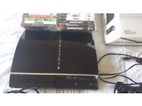PS3 CONSOLE 300GM WITH CONTROLLERS & GAMES