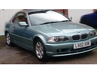 BMW 3 SERIES CONVERTIBLE 325ci AUTOMATIC 1 OWNER CHECK LOW MILAGE!!