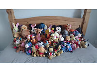 Disney cuddly toy collection