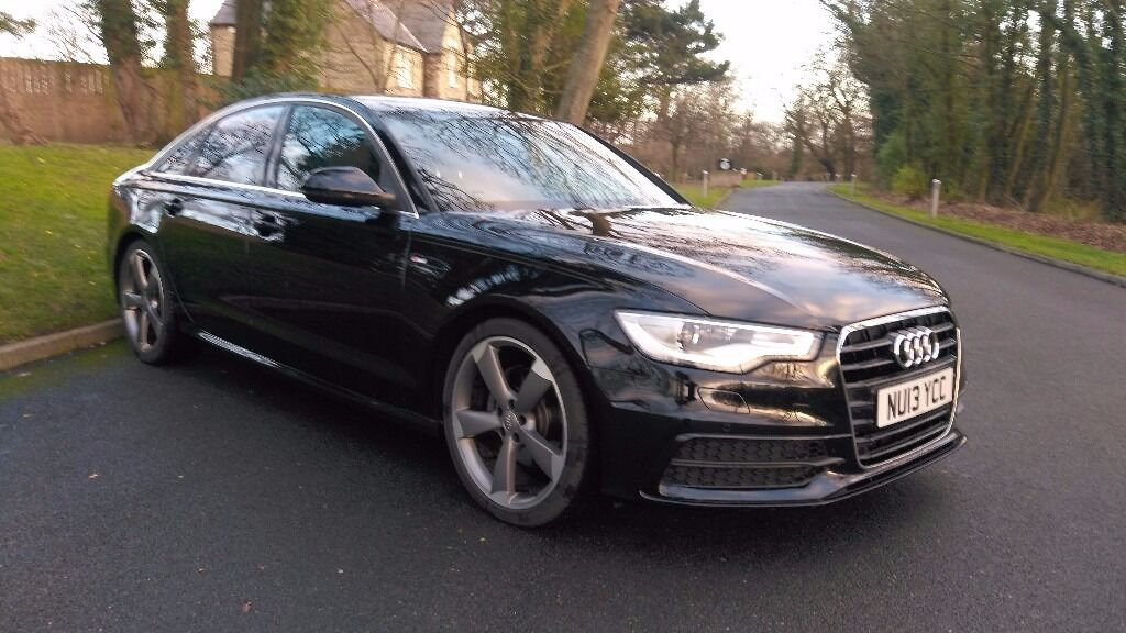 2013 audi a6 3 0 tdi s line automatic leather nav 20 alloys fsh in seaham county durham. Black Bedroom Furniture Sets. Home Design Ideas
