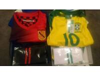 Age 4 football strips - brand new