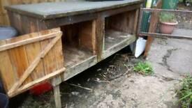 Small furry hutch