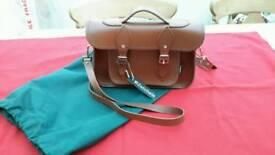 Satchel leather satchel