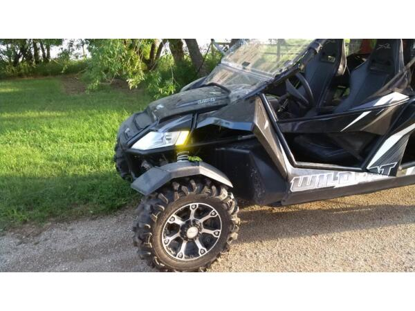 Used 2013 Arctic Cat wildcat 4 1000 ho