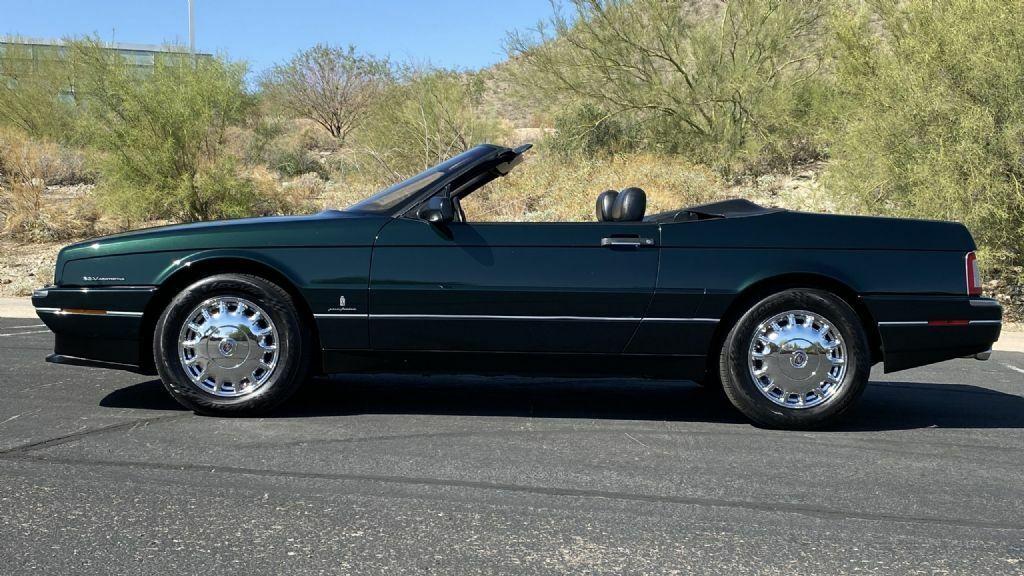 1993 Cadillac Allante  61318 Miles Polo Green Metallic Convertible
