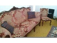Antique Three Seater Sofa