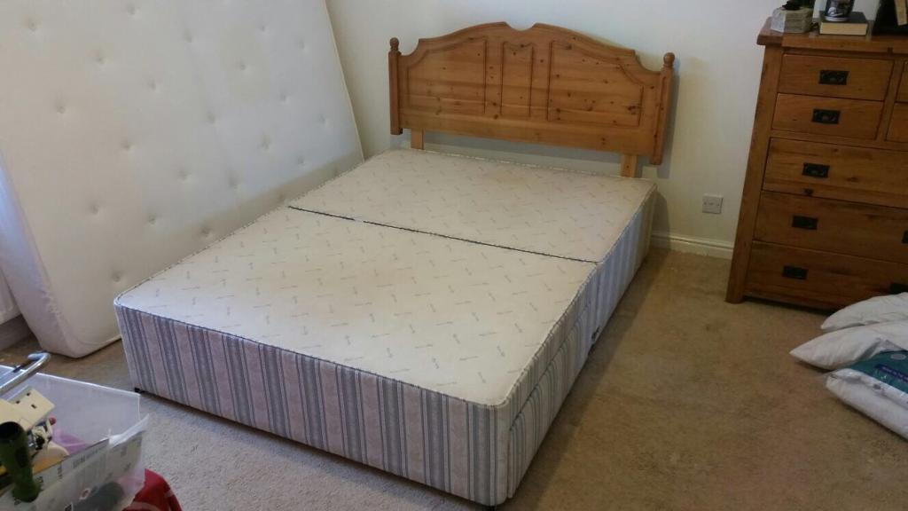 King size divan bed base.