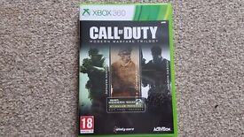 Xbox 360 games Call of Duty Modern Wafare Trilogy