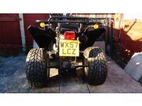 barossa 250cc quad road registered