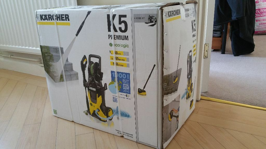 k rcher k5 premium eco home water cooled pressure washer brand new in tilehurst. Black Bedroom Furniture Sets. Home Design Ideas