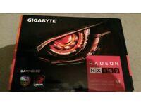 Gigabyte AMD Radeon RX 580 8GB GDDR5 Gaming Graphics Video Card
